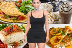 Советы для похудения от Ким Кардашьян