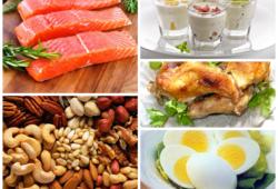 Продукты содержащие большое количество белков